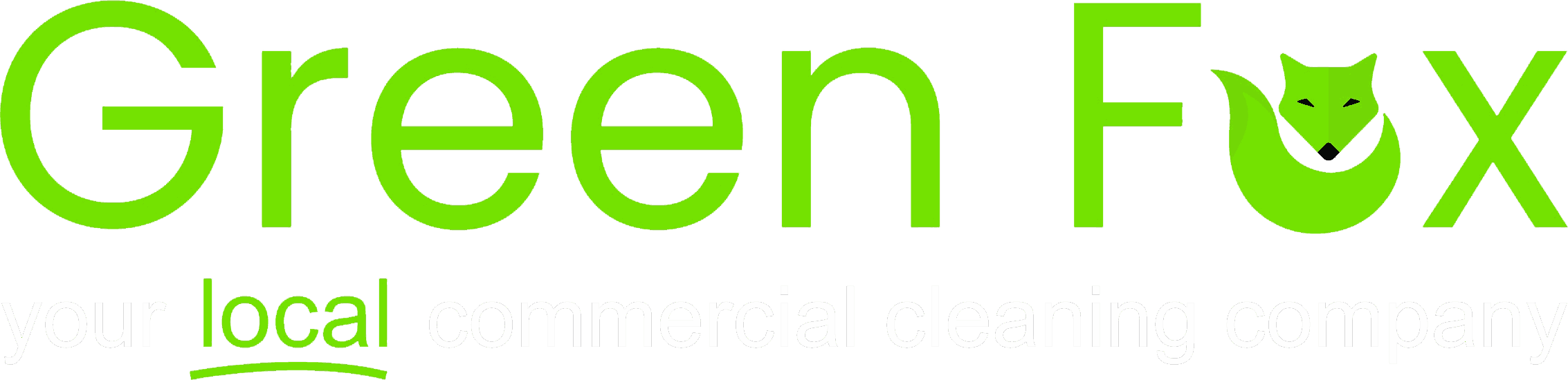 Green Fox Cleaning Logo