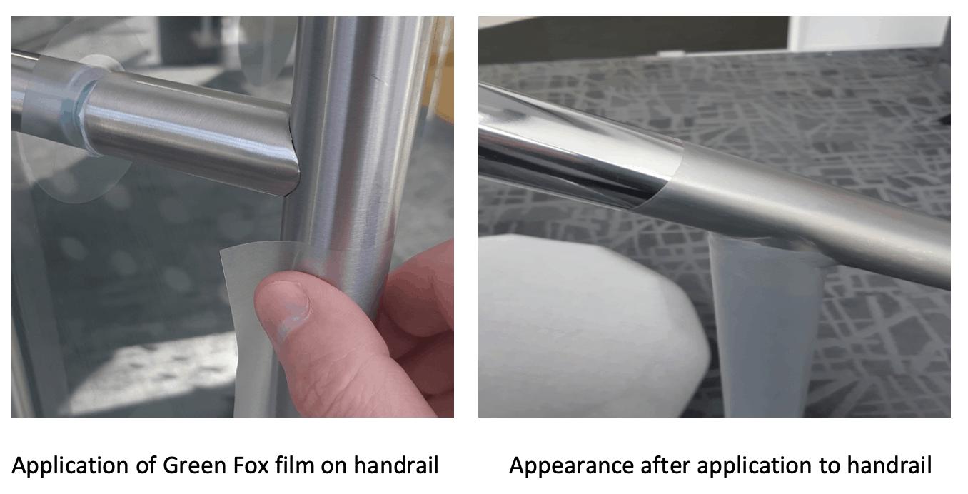 Green Fox protective film door handle covers