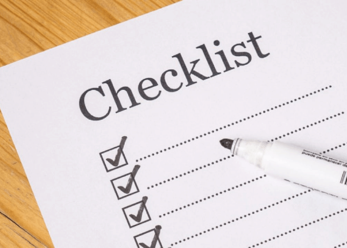 Office deep cleaning checklist