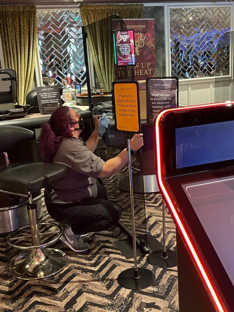 Casino cleaning company